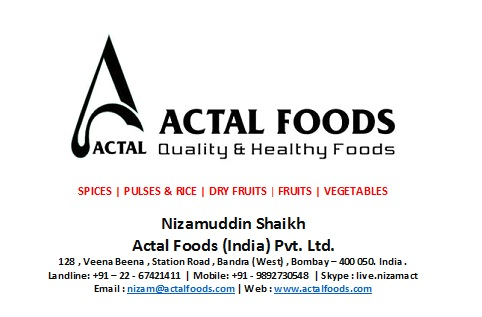 Actal Foods India Pvt. Ltd.